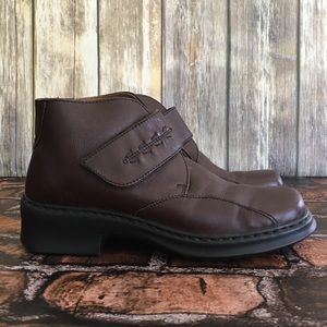 Josef Seibel Brown Leather Ankle Boot